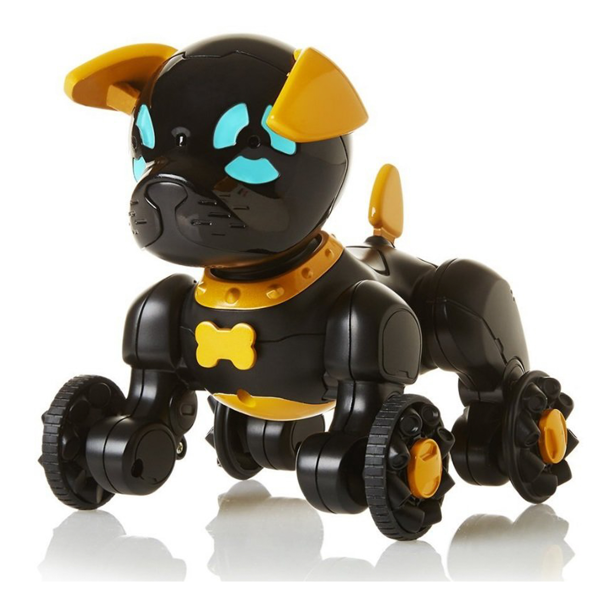 Собачка чиппи черный Wowwee 2804-3819 фото