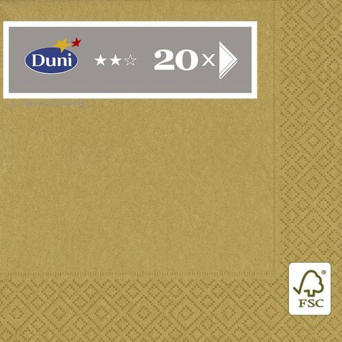 Салфетки трехслойные Duni 33х33 см 20 шт