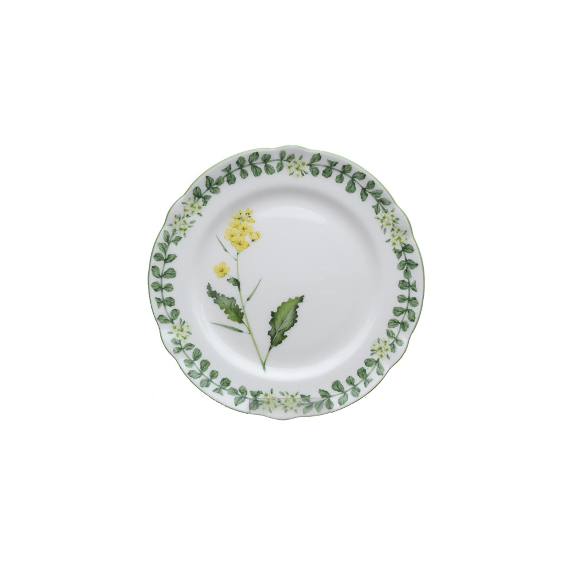 Тарелка закусочная Noritake Английские травы 21 см тарелка закусочная noritake брум стрит 22см
