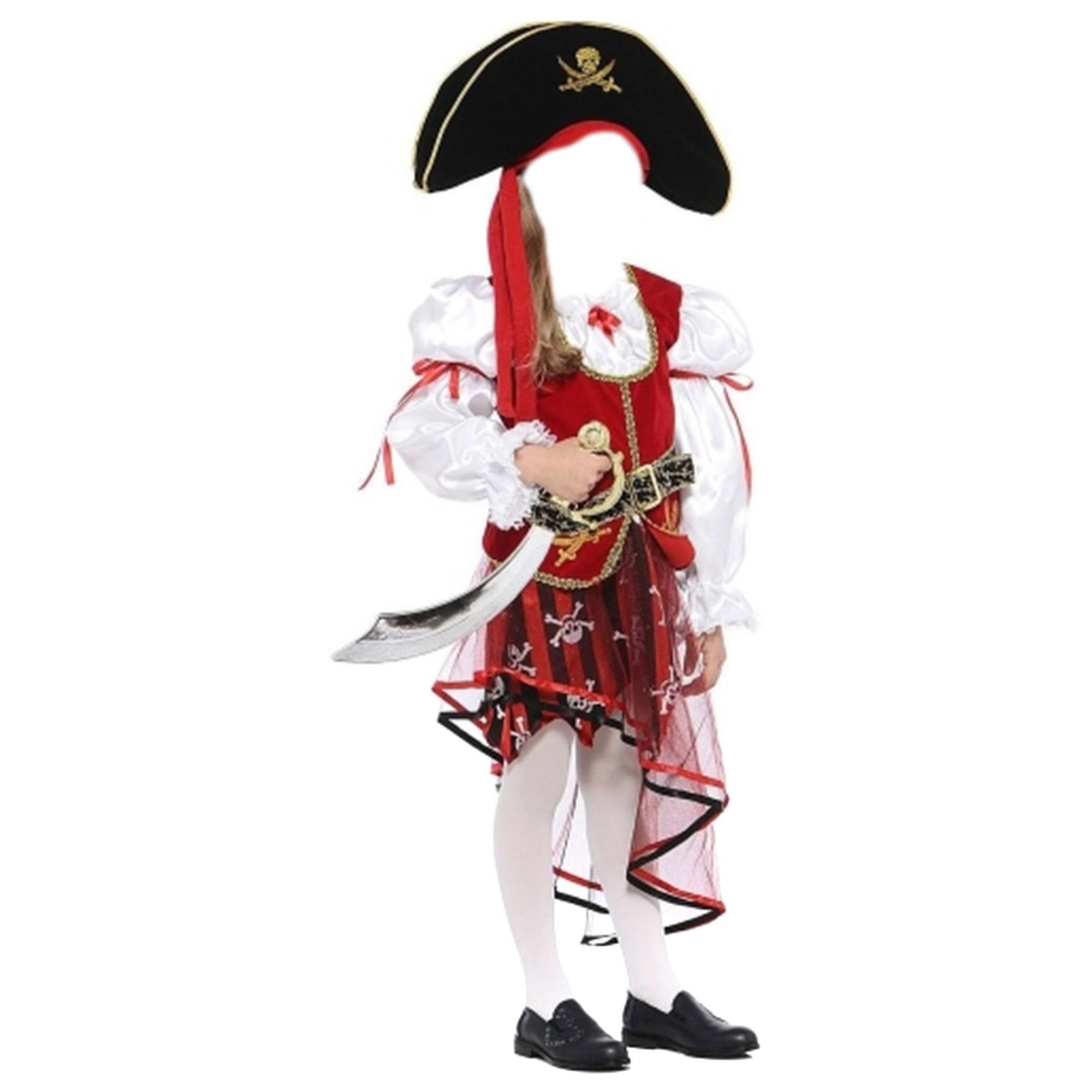 Костюм карнавальный Батик Пиратка 32 батик карнавальный костюм батик фея лиловая