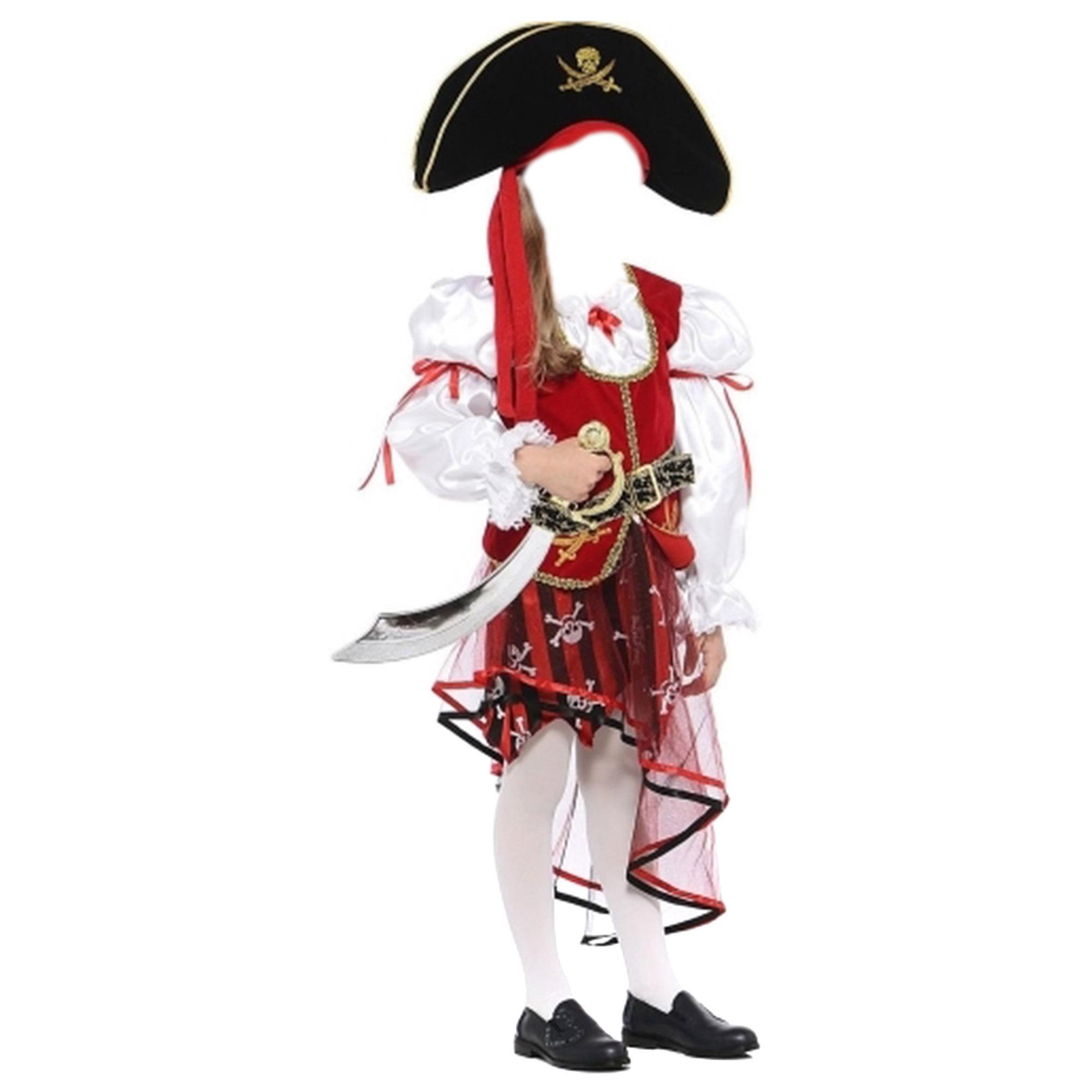 Костюм карнавальный Батик Пиратка 34 батик карнавальный костюм батик фея лиловая