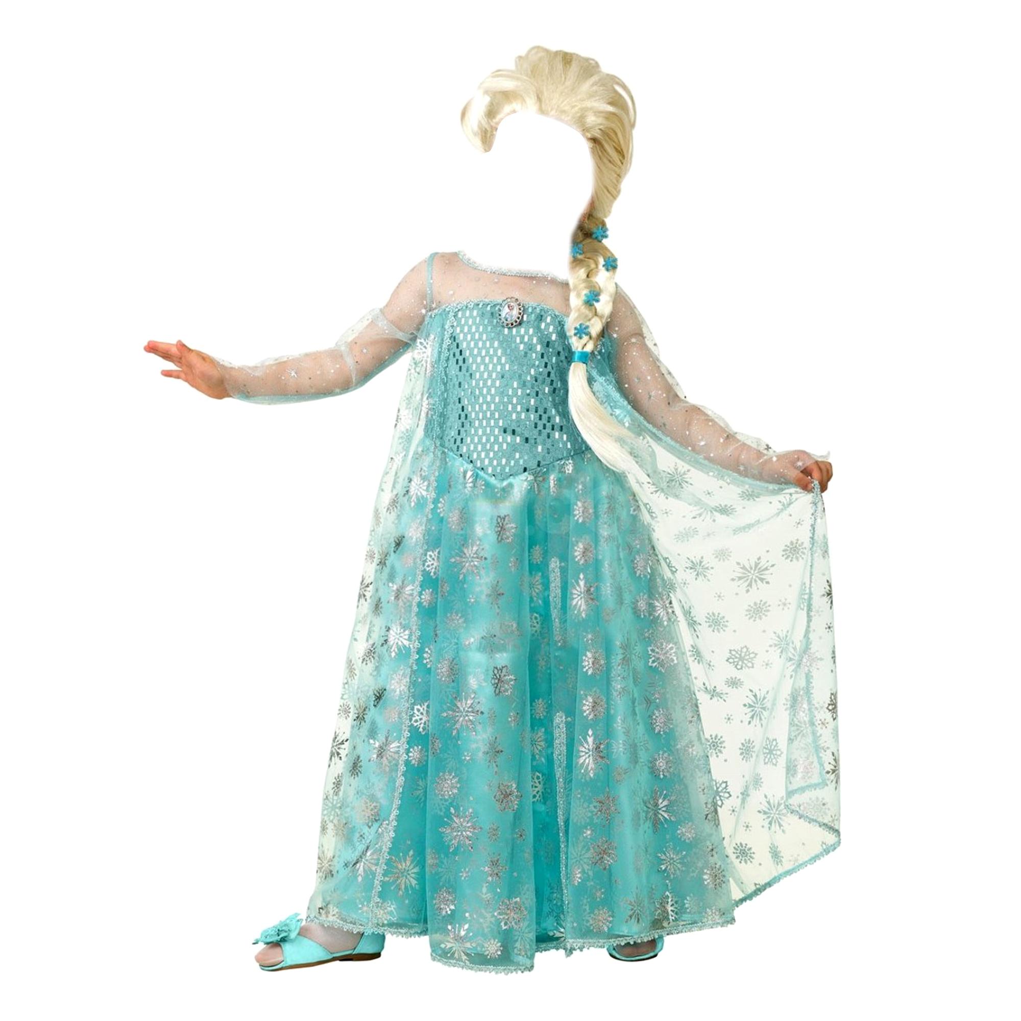 Костюм карнавальный Батик Эльза 36 батик карнавальный костюм батик фея лиловая