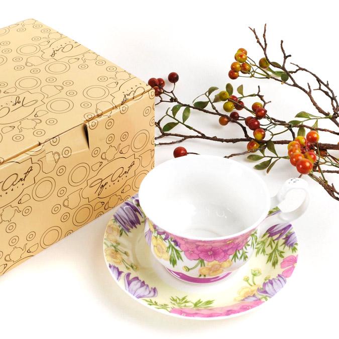 Фото - Пара чайная Top art studio вальс цветов LD2232-TA чайная пара top art studio королева эстева роз 300 мл