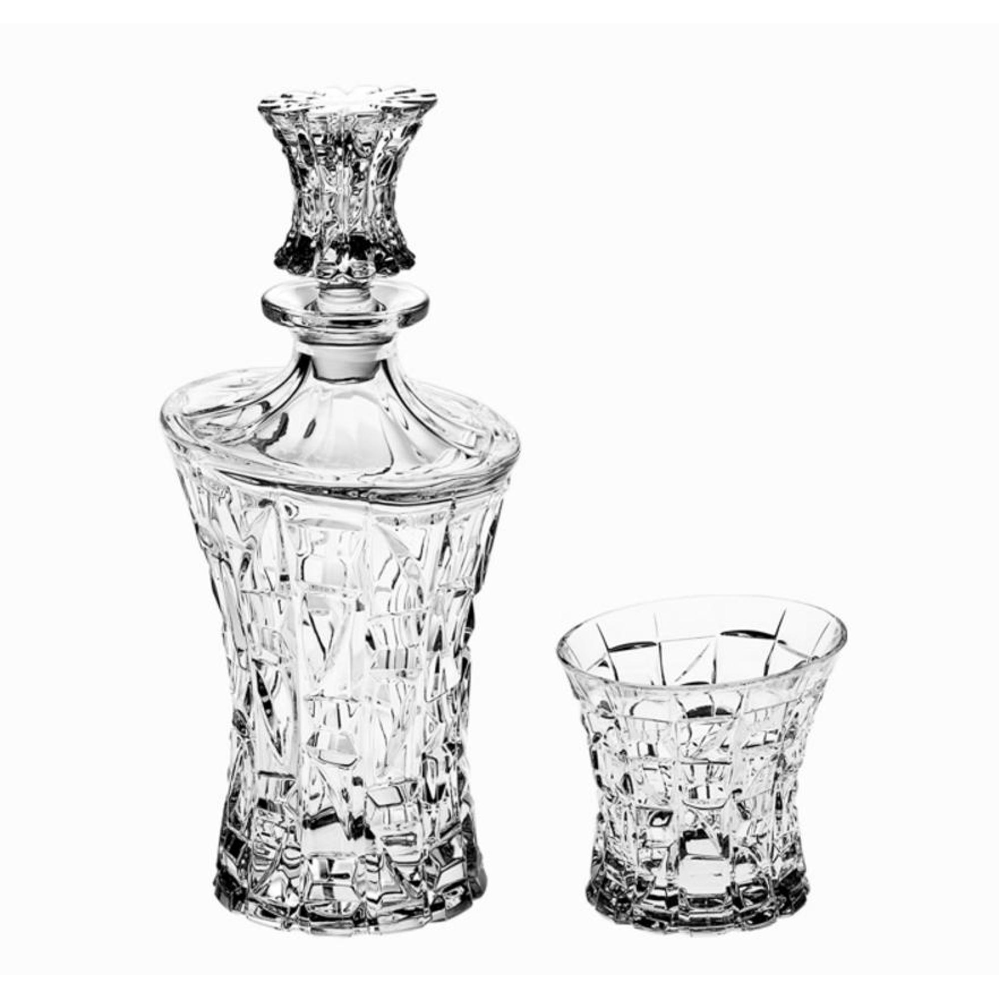 Набор для виски штоф Crystal bohemia a.s. 990/99999/9/47610/830-309 набор для виски 7 шт samurai crystal bohemia 990 99999 9 22615 789 709