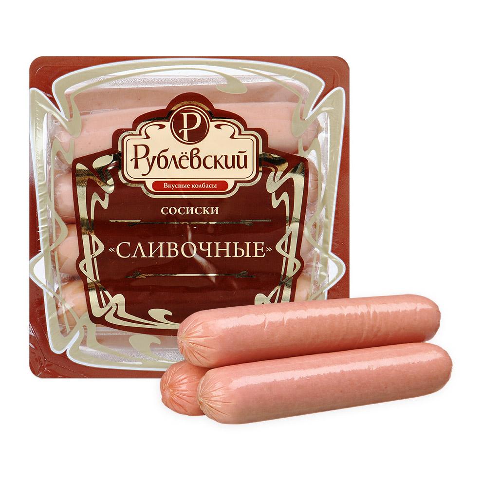 Фото - Сосиски Рублевский Сливочные 240 г сало рублевский белорусское 250 г
