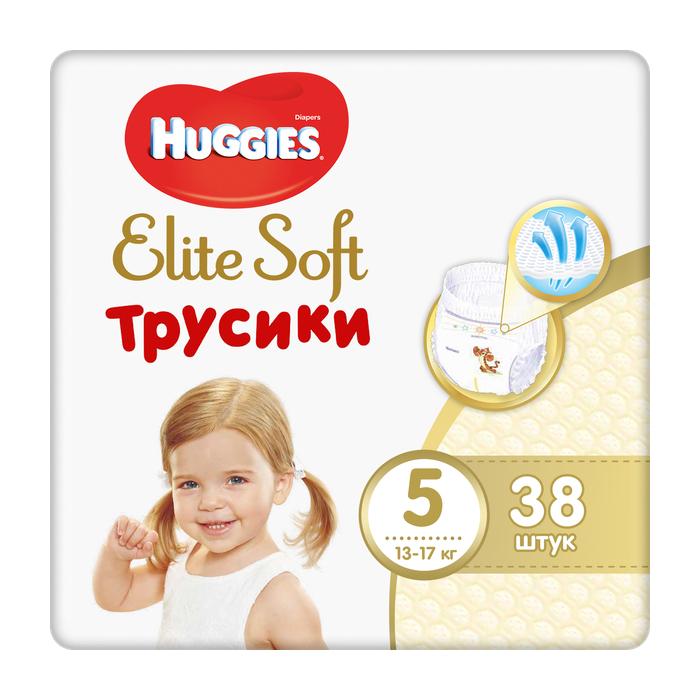 Трусики Huggies Elite Soft 5 (12-17 кг) 38 шт фото