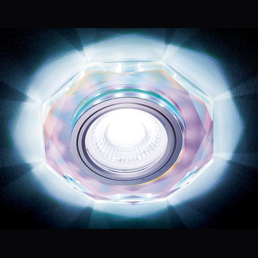 Светильник mr16+3wled cold Ambrella light S213 PR 0 pr на 100