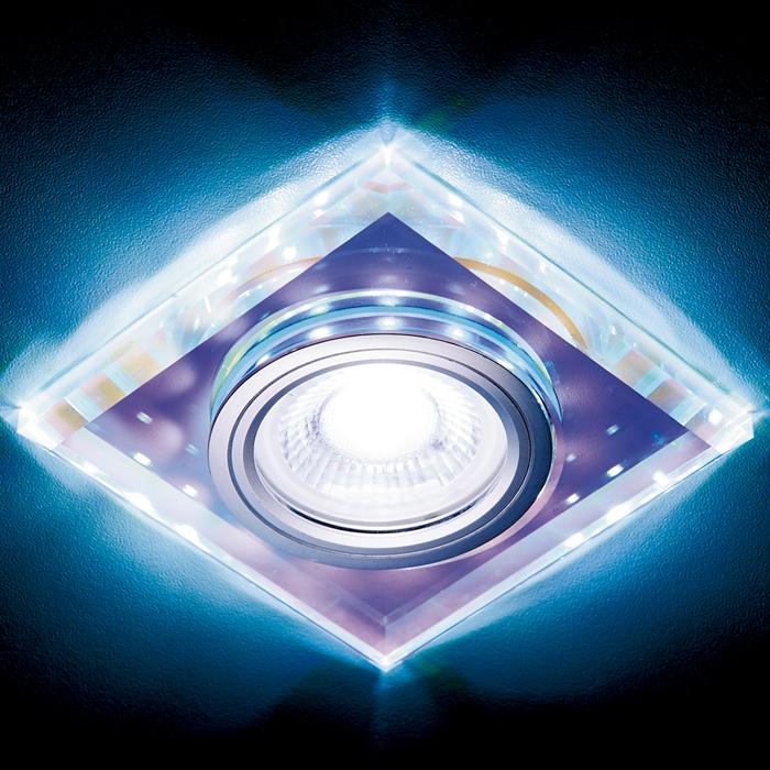 Светильник mr16+3wled cold Ambrella light S215 PR 0 pr на 100