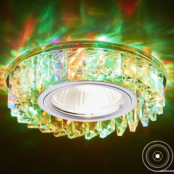 Фото - Светильник mr16+3wled multi Ambrella light S255 CH/M светильник ambrella light s255 ch led