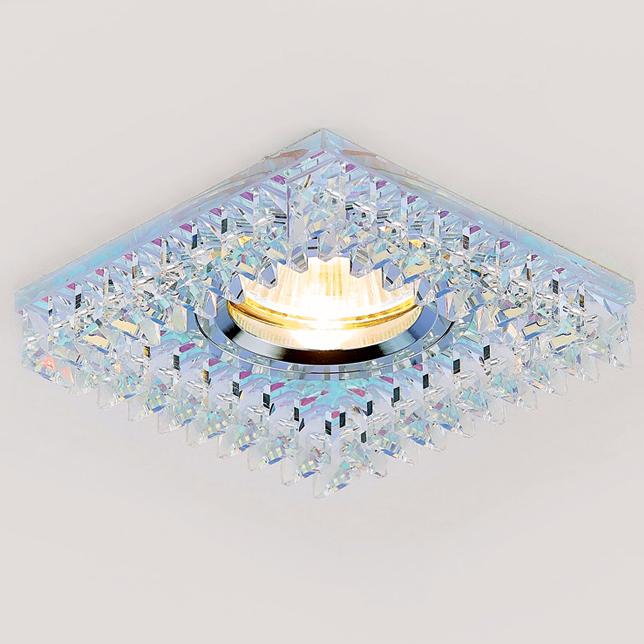 Светильник хром/перл mr16 Ambrella light K120 PR