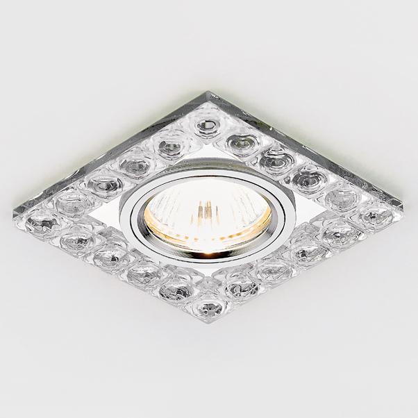 Светильник хром/прозр хрусталь Ambrella light K123 CH