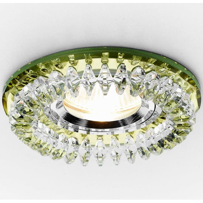 Светильник золото/прозрачный mr1 Ambrella light K220 GD