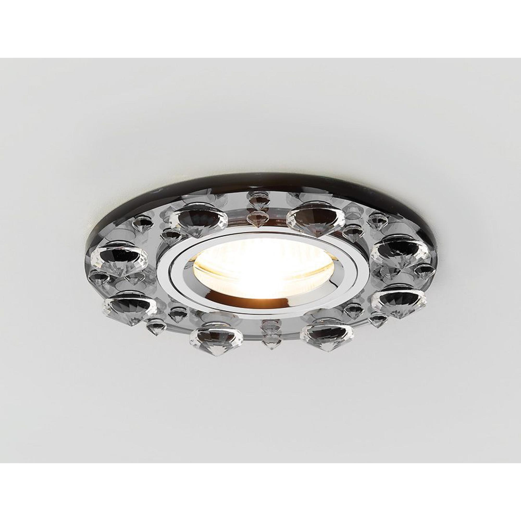 Встраиваемый светильник Ambrella K225 BK
