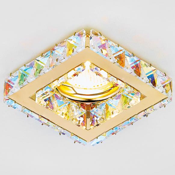 Светильник хрусталь mr16 Ambrella light K110 PR/G 0 pr на 100