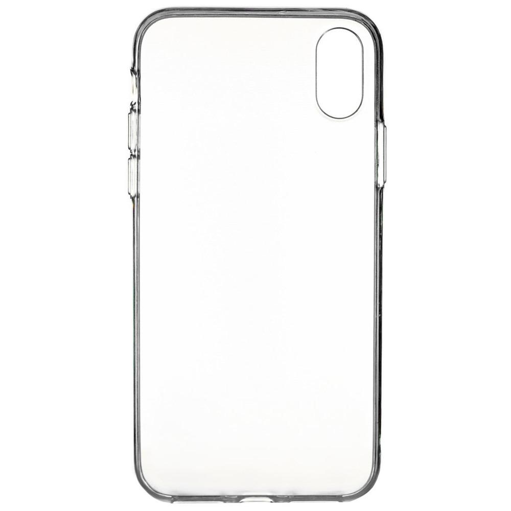 Чехол uBear Laser Tone Case для смартфона Apple iPhone X, прозрачный чехол ubear tone case для apple iphone xs max прозрачный