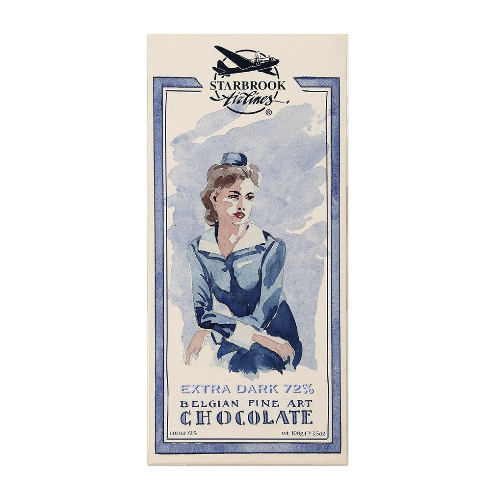 шоколад klaus горький 80% какао 100 г Шоколад Starbrook Airlines горький какао 72% 100 г