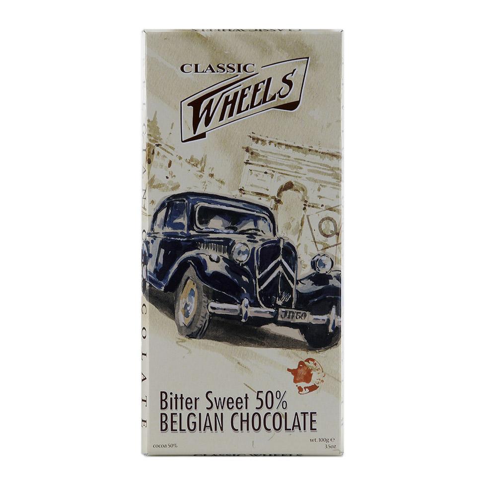 Шоколад Classic Wheels тёмный 50% 100 г