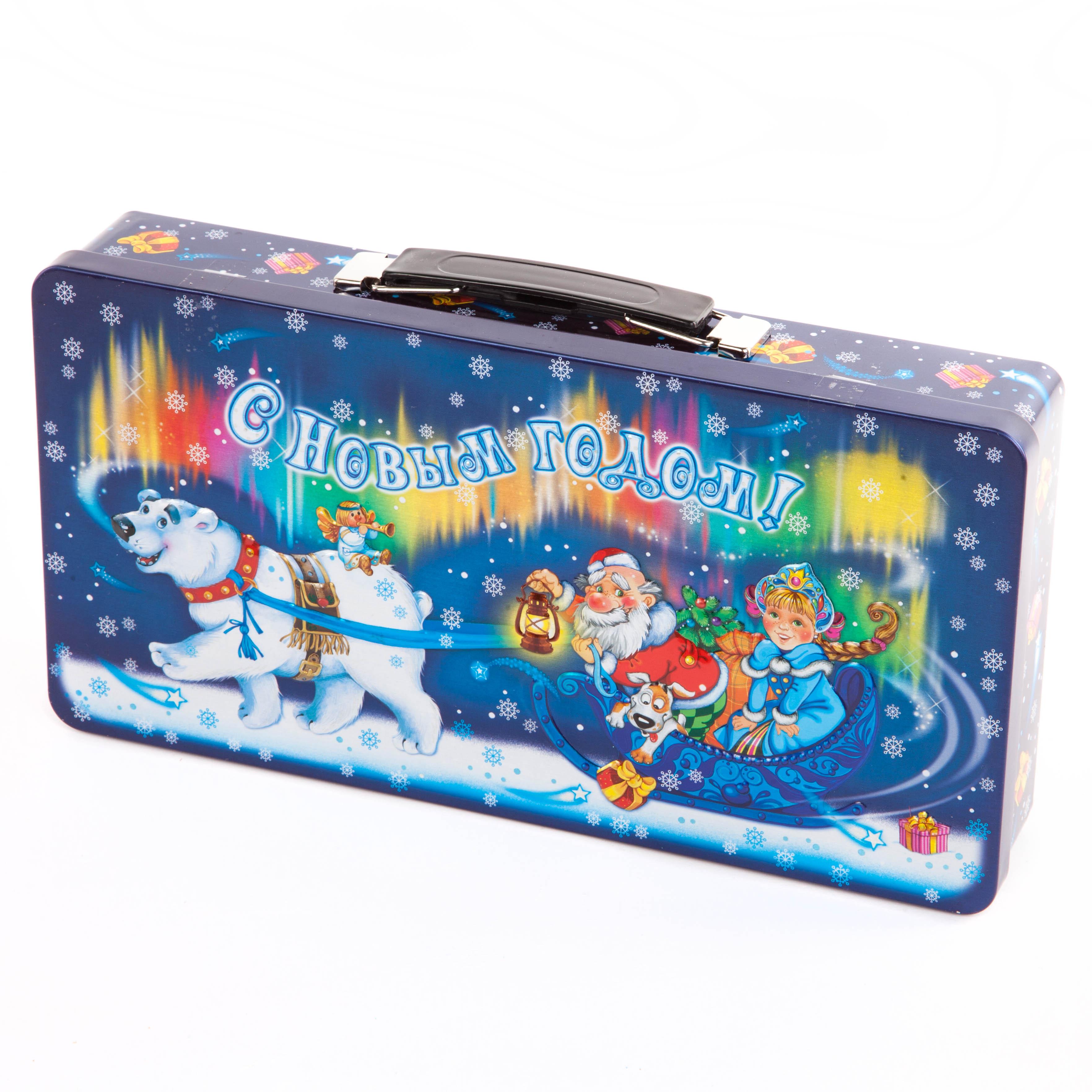 Новогодний подарок Подари чемодан новогодний 500г