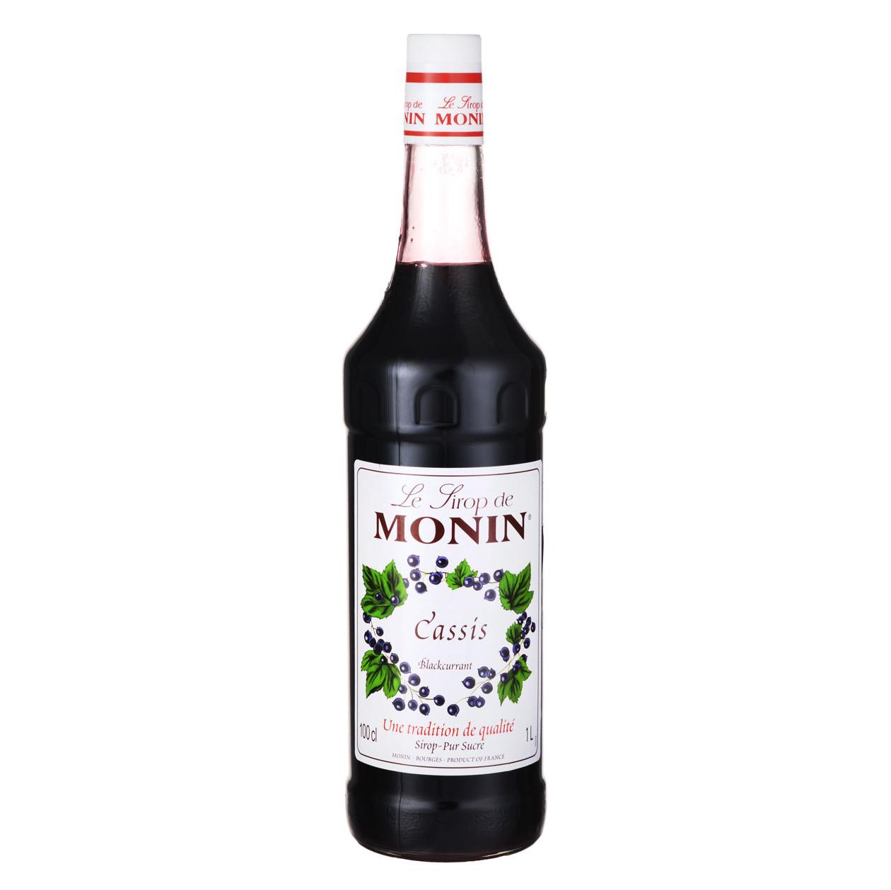 Сироп Monin Черная смородина 1 л