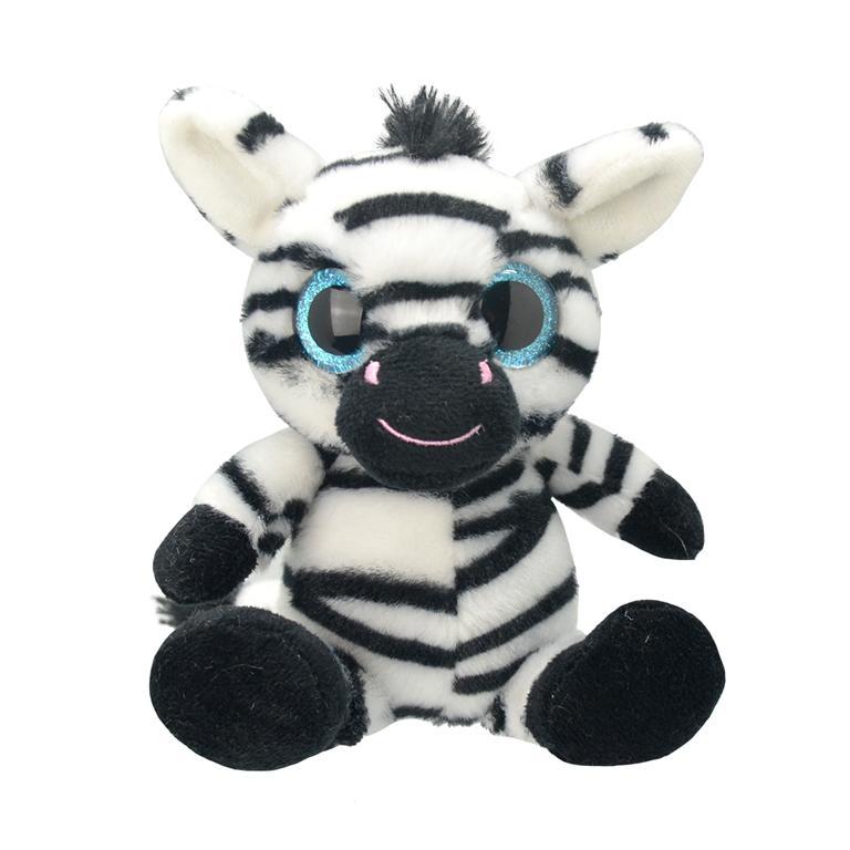 Купить Игрушка мягкая Wild Planet Зебра, Китай, искусственный мех, текстиль, пластик, полиэфир, Мягкая игрушка