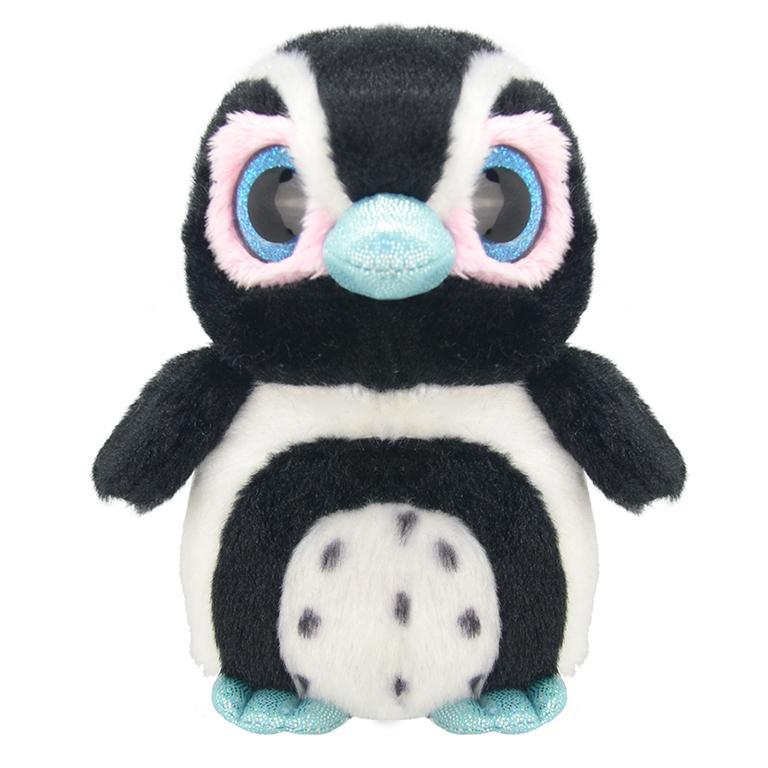 Купить Игрушка мягкая Wild Planet Пингвиненок 15 см, Китай, искусственный мех, текстиль, пластик, полиэфир, Мягкая игрушка