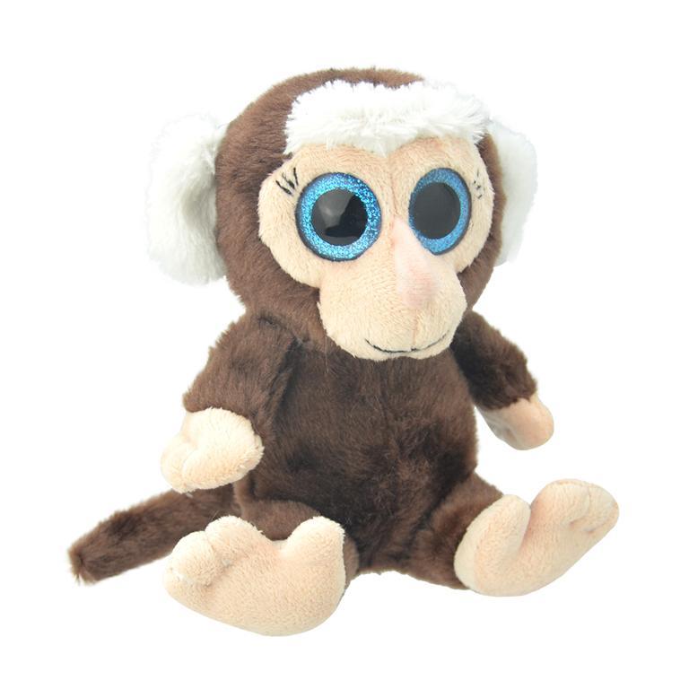 Купить Игрушка мягкая Wild Planet Мартышка 19 см, Китай, искусственный мех, текстиль, пластик, полиэфир, Мягкая игрушка