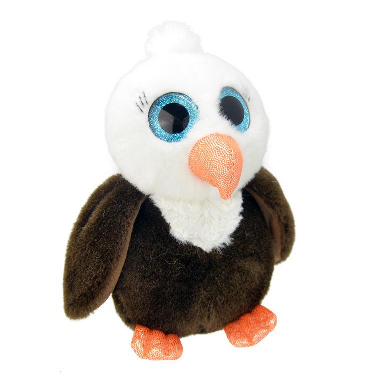 Купить Игрушка мягкая Wild Planet Орленок 15 см, Китай, искусственный мех, текстиль, пластик, полиэфир, Мягкая игрушка