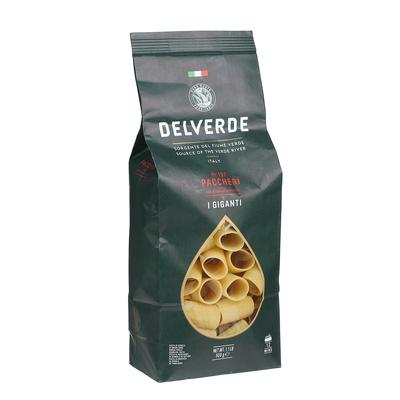 Макаронные изделия Delverde №197 Paccheri 500 г макаронные изделия ашан ракушки 500 г