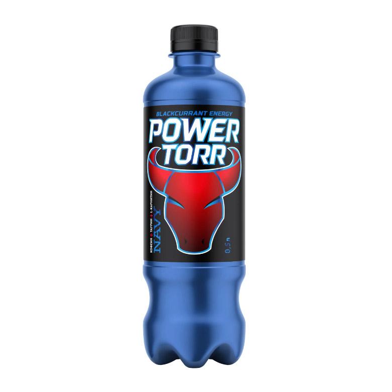 Напиток энергетический Power Torr Navy 0,5 л