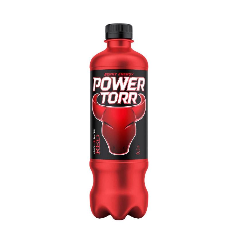 Напиток энергетический Power Torr Red 0,5 л