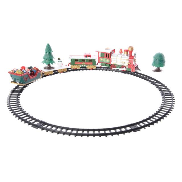 Поезд новогодний светящийся Kaeming 488605