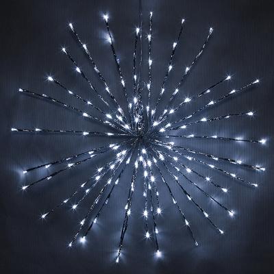 Гирлянда звезда светящаяся 45см 72led KaemingK 492691 недорого