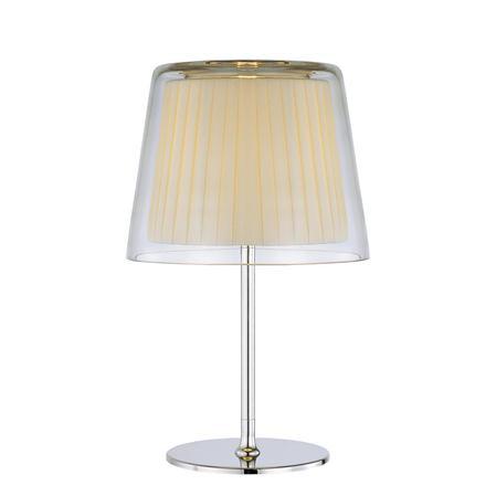 Купить со скидкой Лампа настольная Savoy plisse SE-4-01562-1-CH