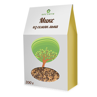 Микс семян льна ОРГТИУМ 200 г микс семян льна оргтиум 200 г