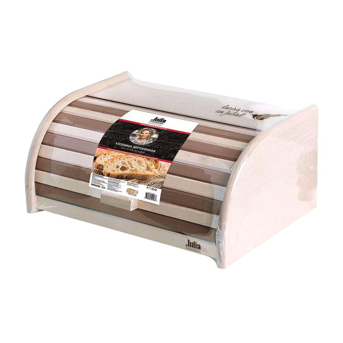 Хлебница деревянная JV 40х28х18 см недорого