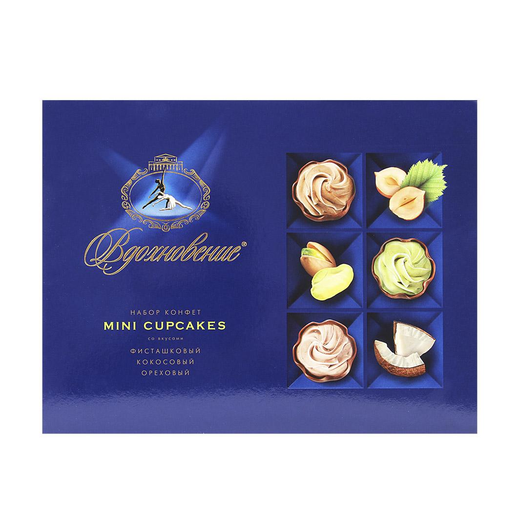 Набор конфет Вдохновение Mini Cupcakes 165 г