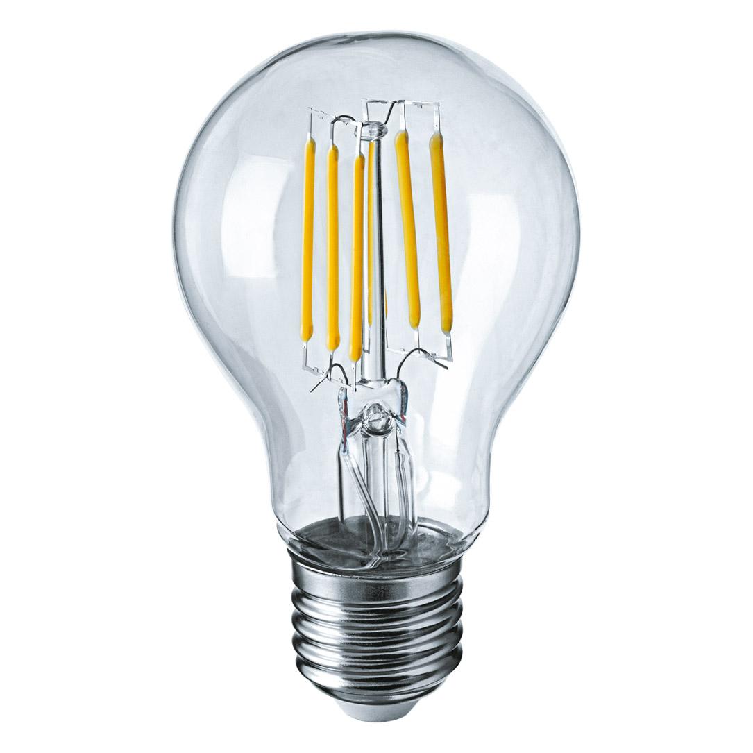 Фото - Лампа filament груша 6вт e27 холодная Navigator 61344 лампа люминесцентная navigator t5 6вт цоколь g5 холодный свет