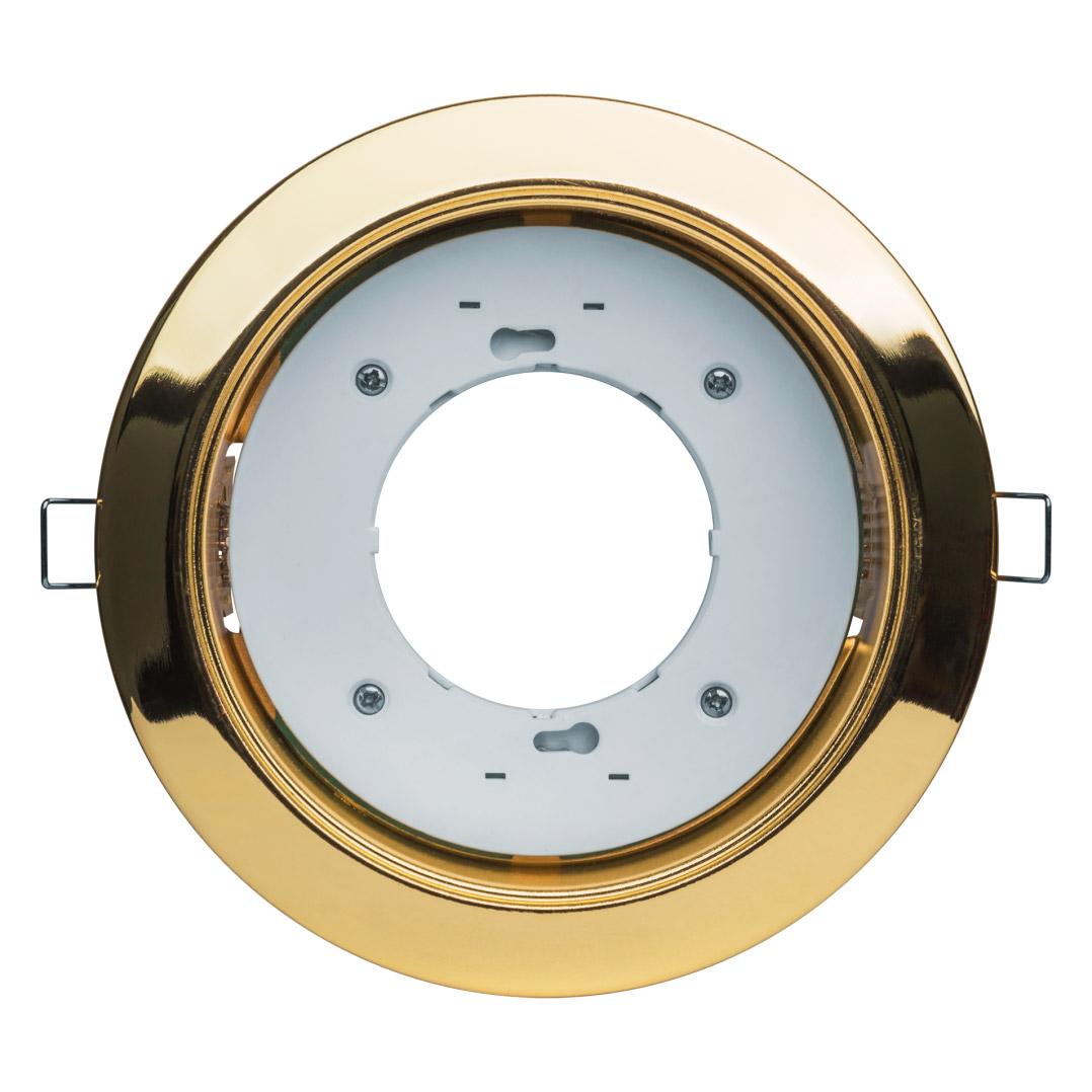 Светильник под лампу с цоколем gx70 (золото) Navigator 61389