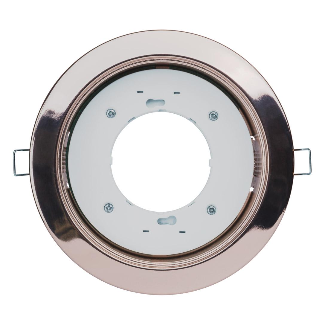 Светильник под лампу с цоколем gx70 (хром) Navigator 61390