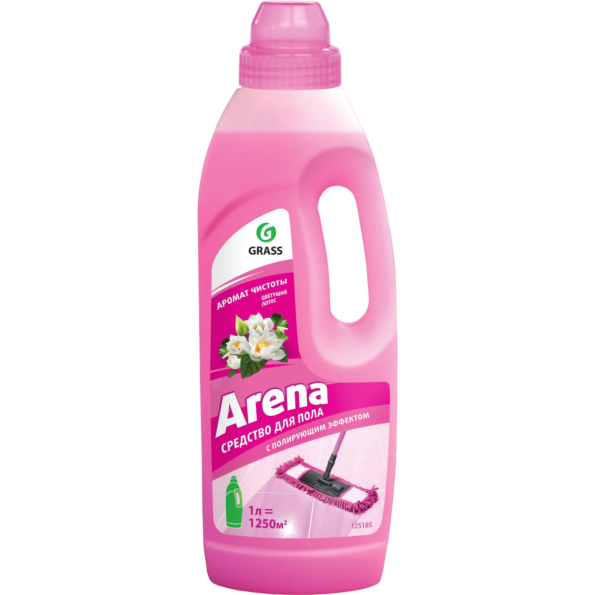 Купить Средство для мытья полов Grass Arena Цветущий лотос 1 л, моющее средство, Россия