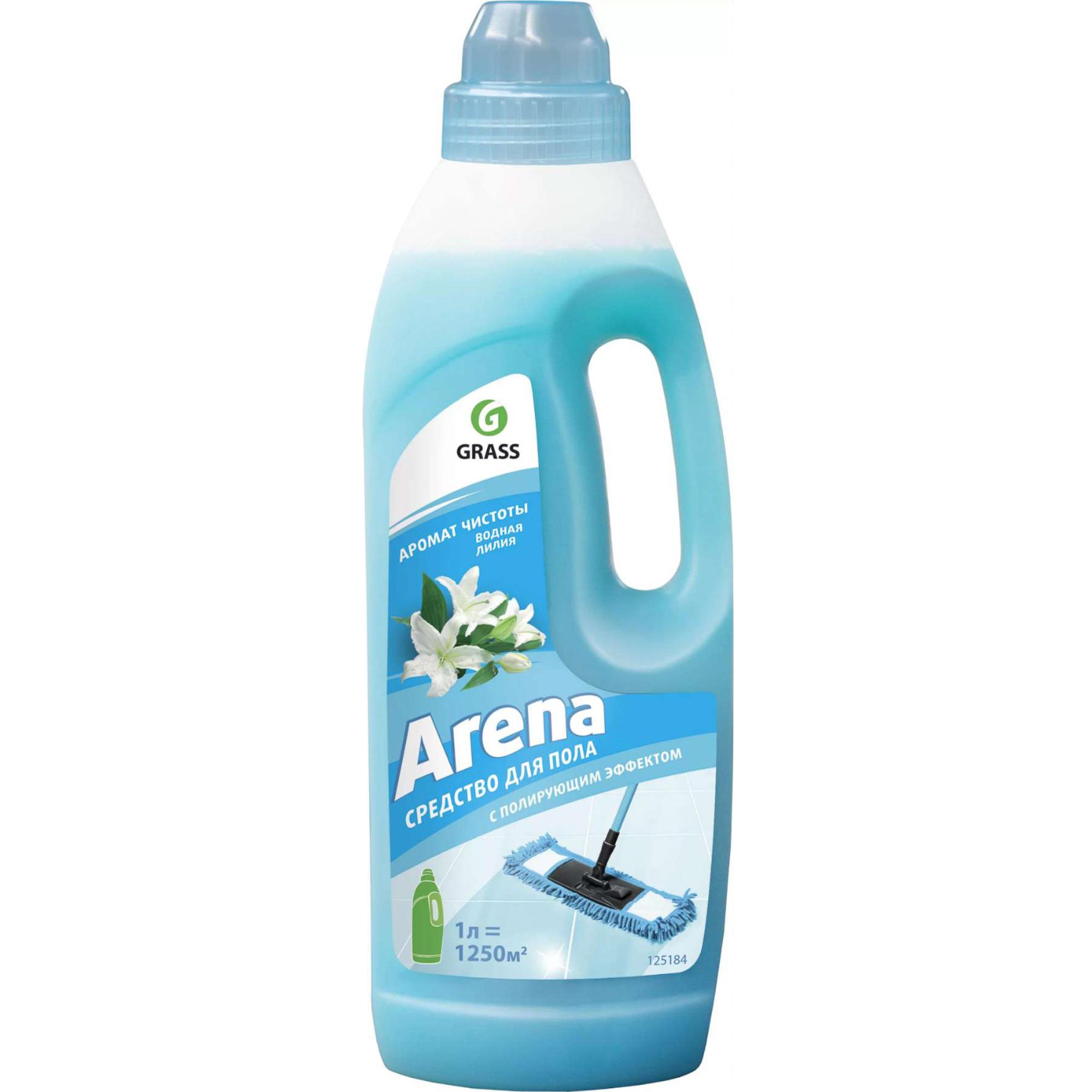 Средство для мытья полов Grass Arena Водяная лилия 1 л фото