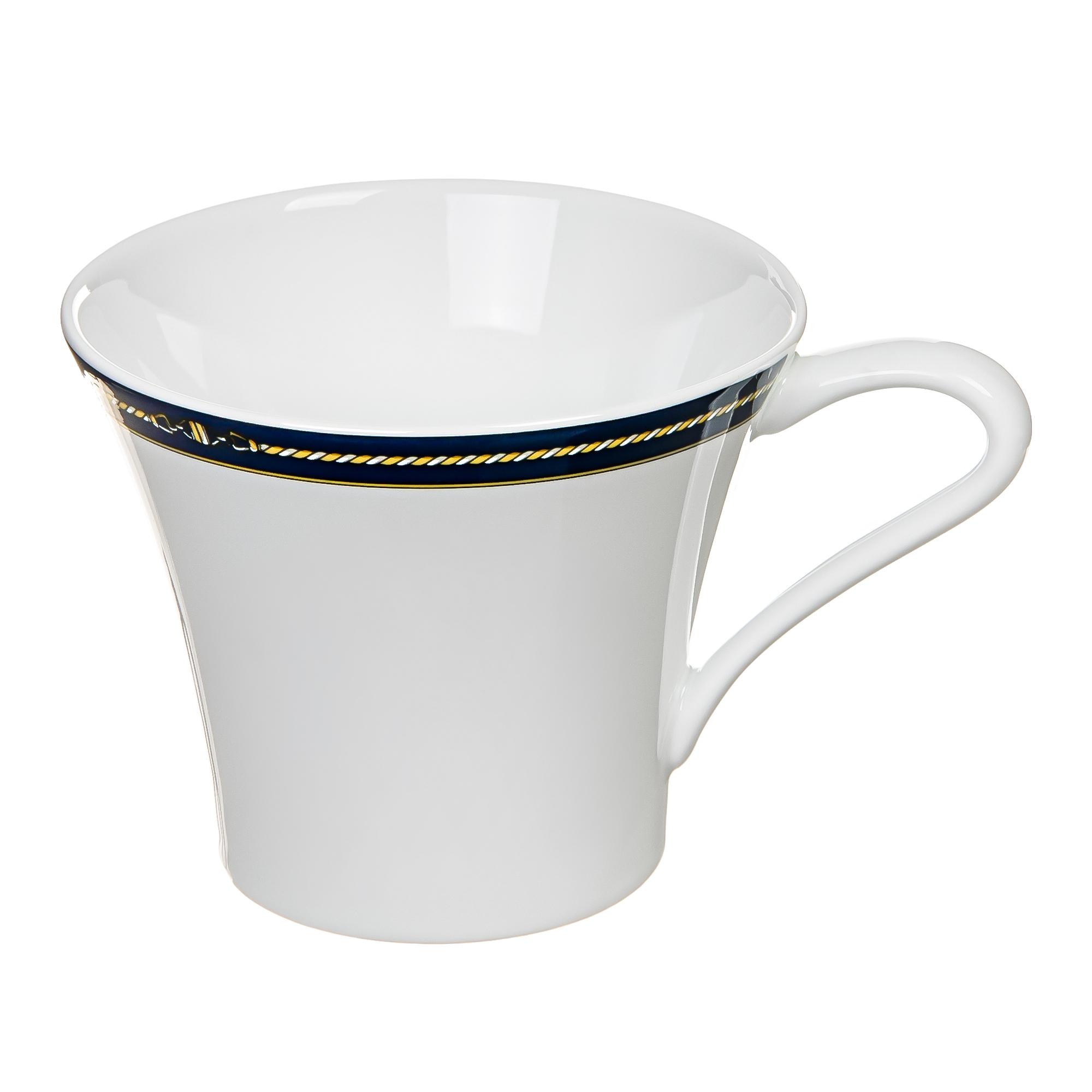 Чашка чайная vendom 280мл marie galante PorcelaИндияe Du Reussy 113328BL1-C00689