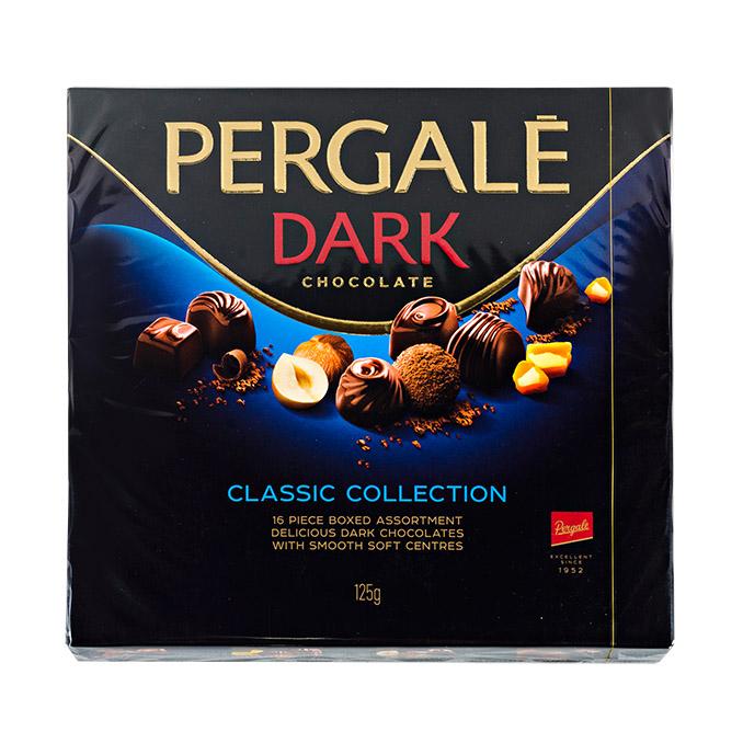 набор конфет pergale liqueur 190 г Набор конфет Pergale из темного шоколада 373г