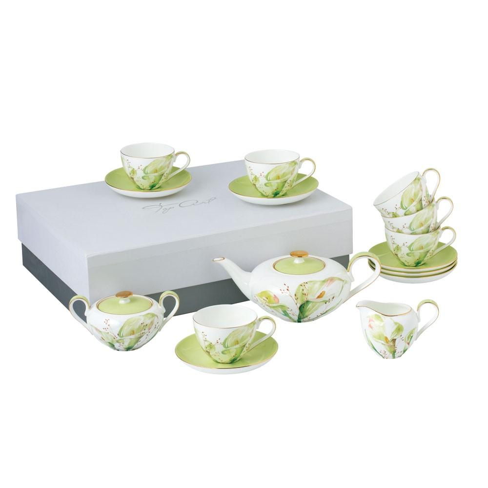 Сервиз чайный Арум15пр Top Art Studio CH2312-TA