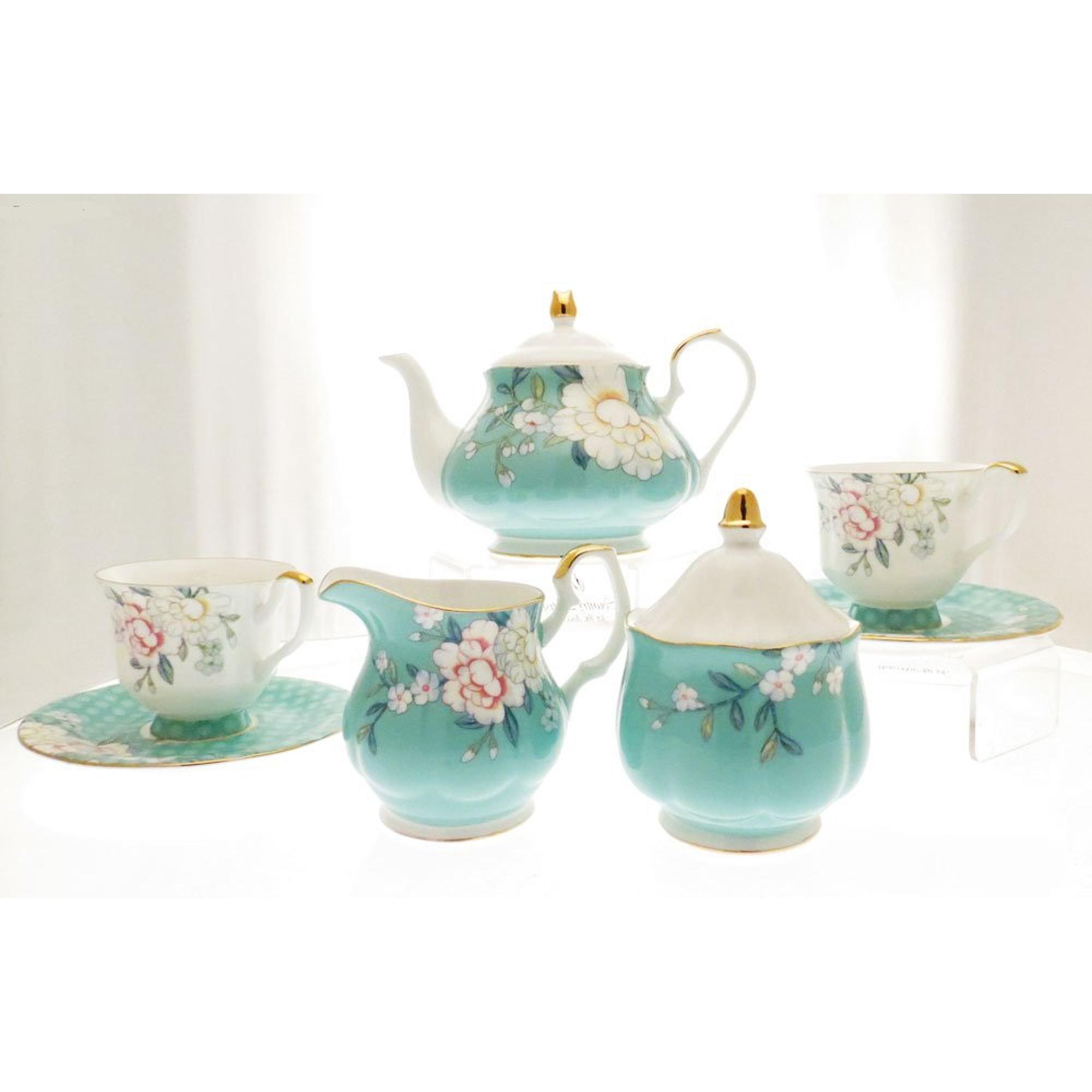 Сервиз чайный Соланж 15 пр Top Art Studio SP2090-TA