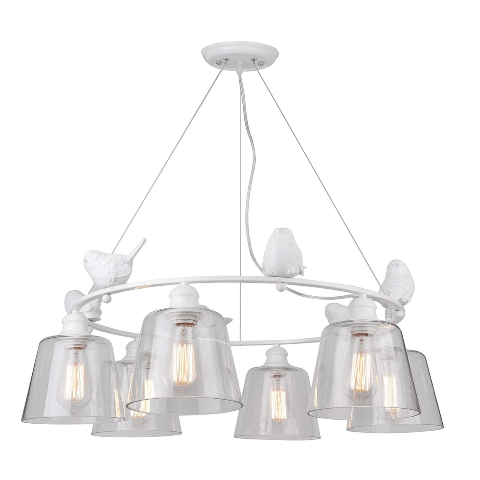 Светильник подвесной Artelamp A4289LM-6WH подвесной светильник astral agnes 12 ламп
