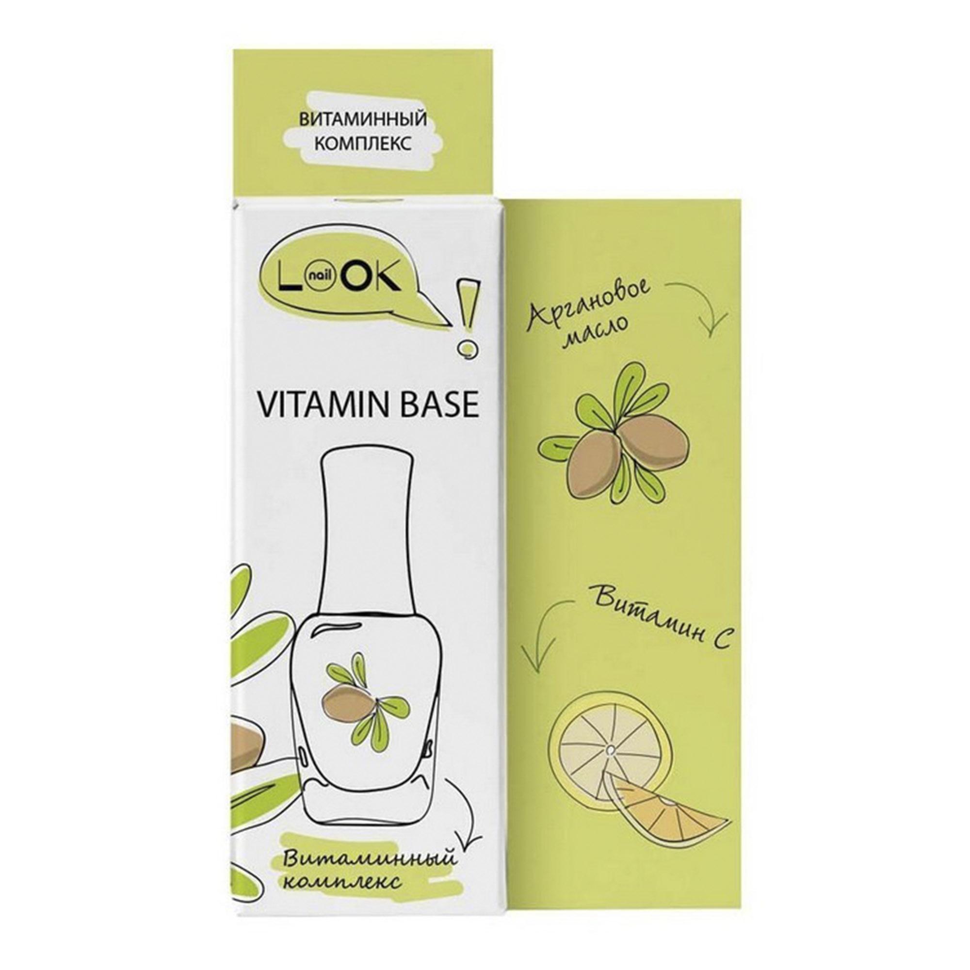 Витаминный комплекс NailLOOK для восстановления 12 мл прихватка василиса витаминный микс 21х21см лен 30