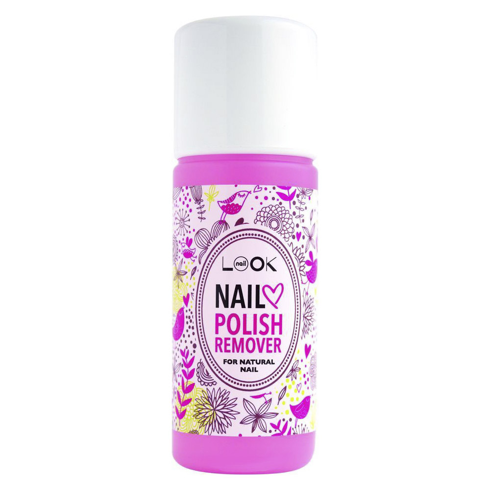 Средство NailLOOK Nail polish remover for natural 100 мл