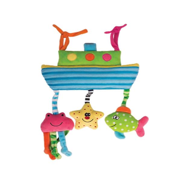 Игрушка-подвес морские приключения Happy snail 14HS002PT игрушка подвес кто в яблоке живёт happy snail 17hs02pa
