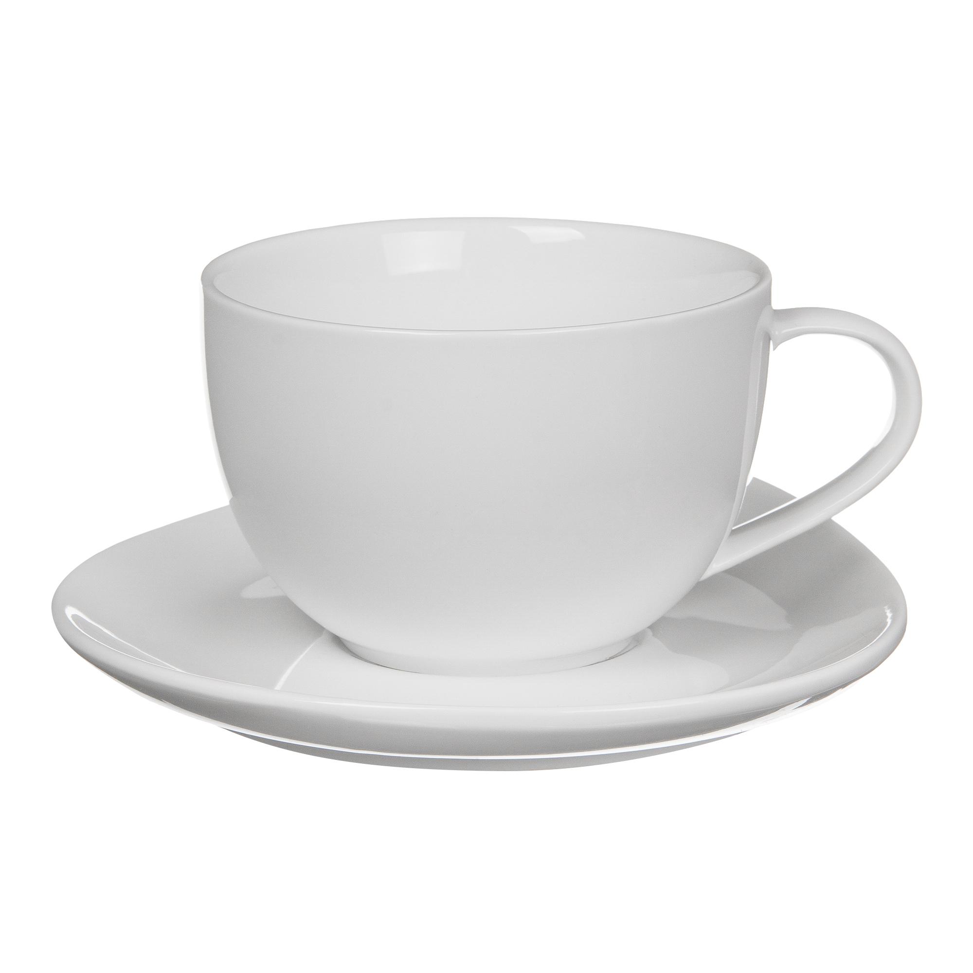 Пара чайная чашка + блюдце 240 мл Tudor TU9999-3